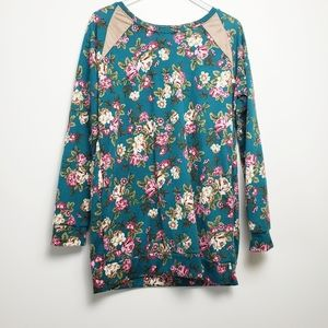 ACTING PRO floral tunic